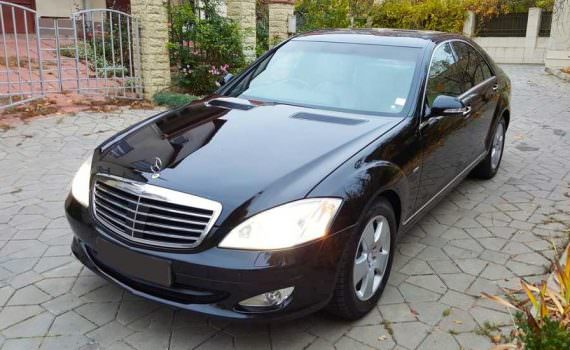 business car rental with driver