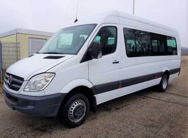 van hire with driver