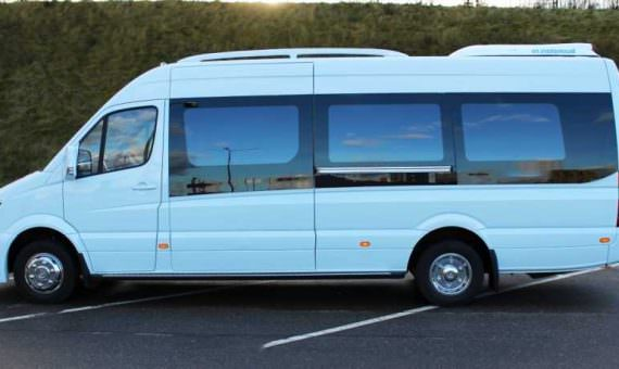 minibus rental with driver
