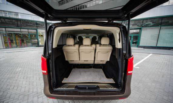 business van rental with driver