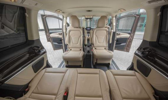 rent a business van with driver